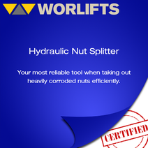 reputable distributor of hydraulic nut splitters
