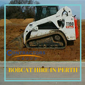 leading Bobcat hire company in Perth
